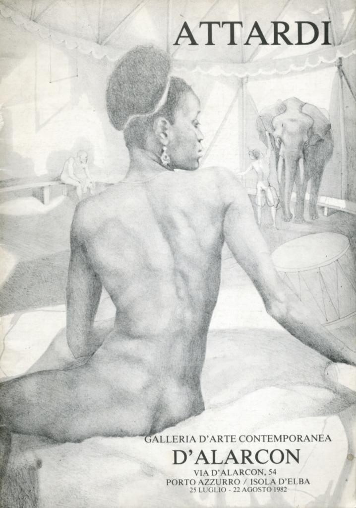 Ugo Attardi, Pittura, Arte, Belle Arti, Arte Contemporanea, Arte moderna, D'Alacorn, Erotico, Bellle donne, Attard, Archvio Storico Ugo attardi