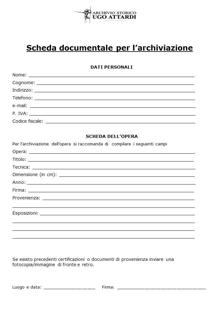 Documento per l'archiviazione opere di Attardi p.3